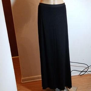 FREE PEOPLE BLACK MAXI SKIRT SZ S NWOT